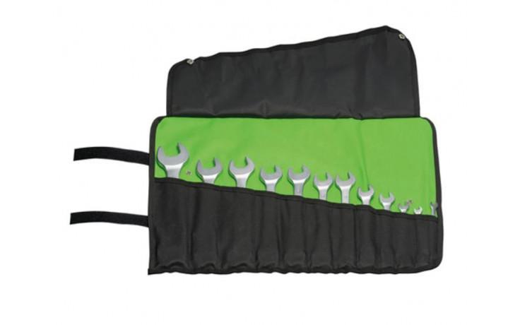 RECA Doppelmaulschlüsselsatz Rolltasche 12-teilig