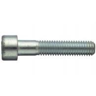 Zylinderschraube ISO 4762 - 8.8 - verzinkt blau - M5 X 200